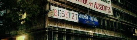 [27.12.] still not loving repression. Soli-Tanz für Repressionskosten Blauer Block & Leerstelle