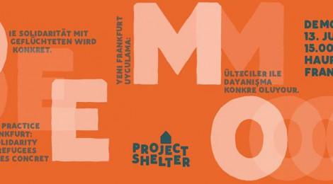 Solidaritätserklärung mit Project Shelter und Demoaufruf